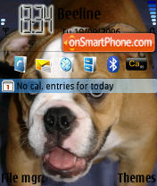 Amo Dog theme screenshot