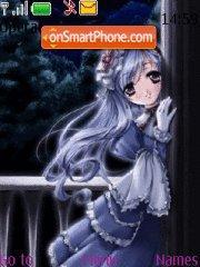 Скриншот темы Gothic Anime
