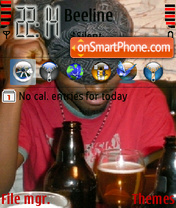 Tudog tema screenshot