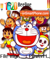 Doraemon 04 theme screenshot