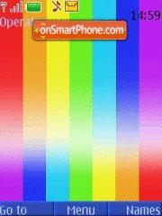 Easy Rainbow theme screenshot