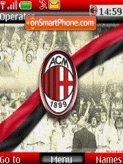 Ac Milan 11 theme screenshot