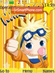 Chibi Naruto 03 theme screenshot