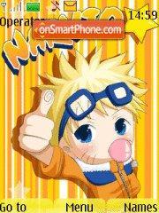 Скриншот темы Chibi Naruto 03