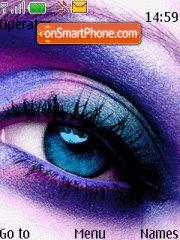 Purple Eye theme screenshot