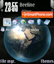 World 03 theme screenshot