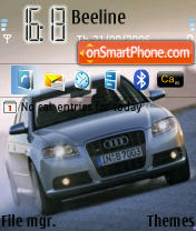 Скриншот темы Audi S4