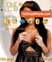Megan Fox 04 theme screenshot