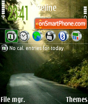 Road 03 theme screenshot