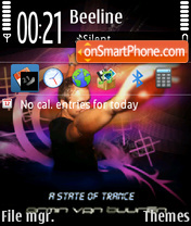 Armin van buuren 04 theme screenshot