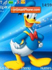 Donald Duck 09 theme screenshot