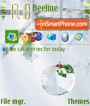 Christmas Ball Animated tema screenshot
