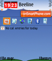 Leto 01 theme screenshot