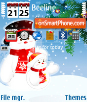 Winter 2009 v1 theme screenshot