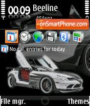 McLaren 01 theme screenshot