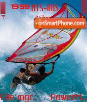 Windsurfing theme screenshot