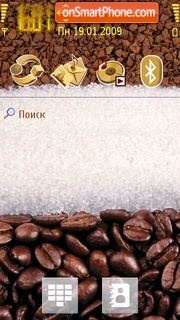 Coffee Time theme screenshot