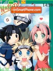 Naruto Band 01 es el tema de pantalla