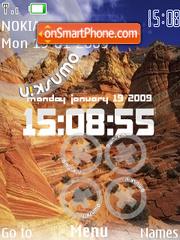 Mountain Style SWF theme screenshot
