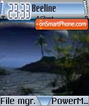 Moon 03 es el tema de pantalla