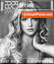 Britney 11 theme screenshot