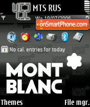 Montblanc theme screenshot