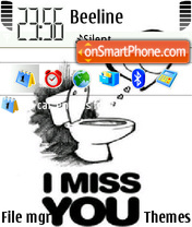 Miss U 01 theme screenshot
