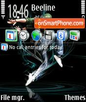 Dancer 01 theme screenshot