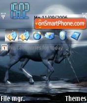 Unicorn91 theme screenshot