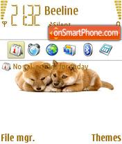 Shiba 2008 theme screenshot