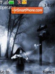 Girl in Dark theme screenshot