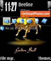 Golden Bull es el tema de pantalla