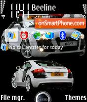 Audi R8 es el tema de pantalla