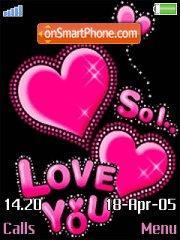 So Love es el tema de pantalla