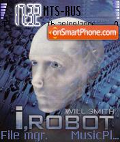 I, Robot Will Smith theme screenshot