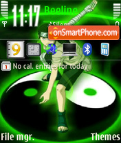 Naruto Neji Theme-Screenshot