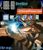 Скриншот темы Uchiha Sasuke