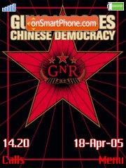 Скриншот темы Chinese Democracy