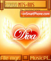 Diva Theme theme screenshot