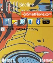 Hello theme screenshot