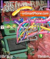 Robot Theme-Screenshot