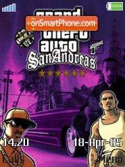 GTA San Andreas es el tema de pantalla