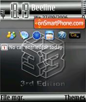 3rd Edition es el tema de pantalla