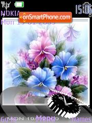 Flowers SWF theme screenshot