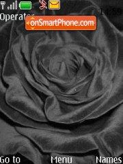 Black rose es el tema de pantalla