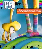 Giraffe es el tema de pantalla