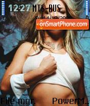 Sexy Britney 01 theme screenshot