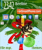 New year 2012 theme screenshot