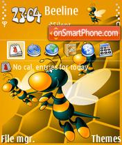 Not Beeline theme screenshot