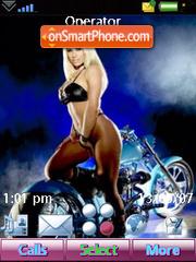 Bike and Girls es el tema de pantalla